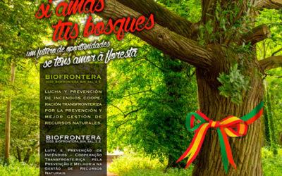 Los carteles, dípticos y roll-up que publicitan el proyecto Biofrontera ya están disponibles